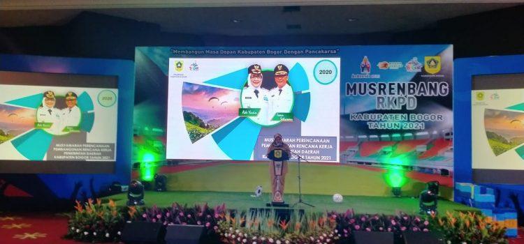 Melalui Musrenbang RKPD Tingkat Kabupaten Bogor Bupati Bogor Tetapkan Sembilan Program Prioritas Tahun 2021