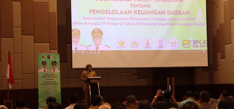 Bupati Bogor: Membangun Daerah, Butuh Sinergi dan Komunikasi  Semua Pihak