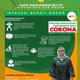 Peningkatan Kewaspadaan Terhadap Risiko Penularan Corona Virus (Covid-19)
