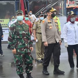 Bupati Bogor Pantau Simulasi PSBB