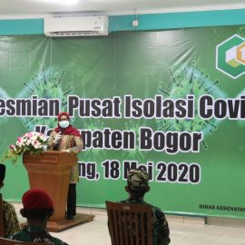 Mendapat Izin Mendagri, Ade Yasin Resmikan Pusat Isolasi Covid-19 Di Wisma Diklat BPSDM Kemang Bogor