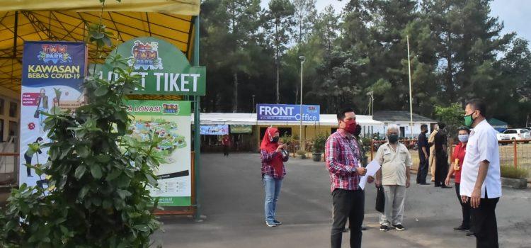 Tim Monev PSBB Sektor Pariwisata Kab. Bogor Tinjau Hotel dan Tempat Wisata di Kec. Megamendung