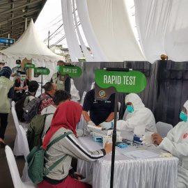 Stasiun Bojong Gede dan Stasiun Besar Bogor Kembali Melakukan Rapid Test