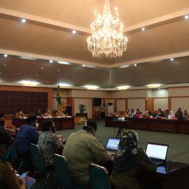 PSBB Transisi Akan Berakhir, Ade Yasin Pimpin Rapat Persiapan Menuju Adaptasi Kebiasaan Baru (AKB)