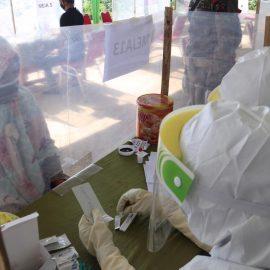 Gelar Rapid Test Dikediaman Abah Surya, Gugus Tugas Covid-19 Kabupaten Bogor: Alhamdulillah Hasilnya Semua Non Reaktif