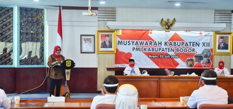 Bupati Bogor Hadiri Muskab PMI Kabupaten Bogor