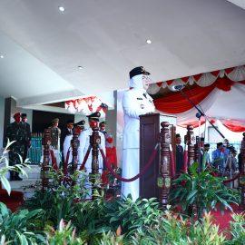Jadi Inspektur Upacara HUT Republik Indonesia Ke-75, Bupati Bogor  Ajak Semua Pihak Tetap Produktif Membangun Daerah