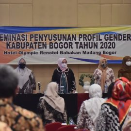 DP3AP2KB Kab. Bogor Gelar Diseminasi Penyusunan Profil Gender