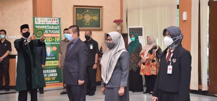 Bupati Bogor Lantik Dua Pejabat Esselon II dan Satu Pejabat Fungsional di Pemkab Bogor