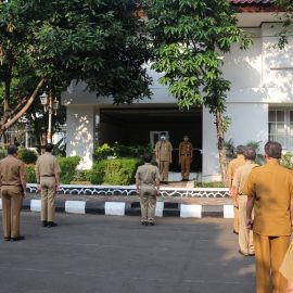 Sekda Kabupaten Bogor: Eselon II Wajib  Apel Bersama di Setda