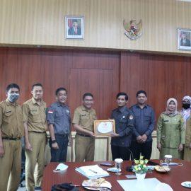 Bawaslu Kabupaten Bogor Gandeng Diskominfo Kolaborasi Manfaatkan Teknologi Informatika