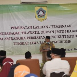 Kabupaten Bogor Matangkan Pembinaan Kafilah untuk Hadapi MTQ Ke XXXVI Tingkat Provinsi Jawa Barat