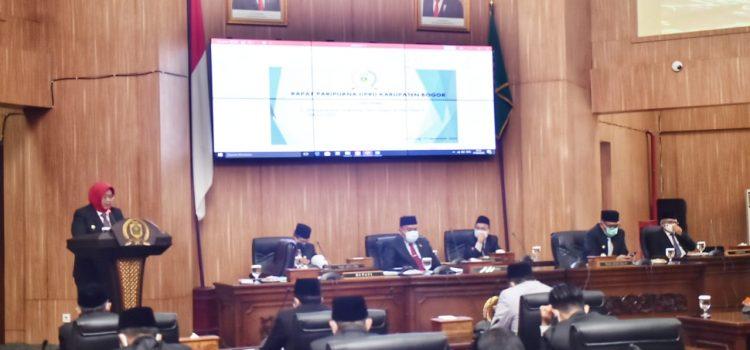 Ade Yasin Sampaikan KUPA-PPAS-P Tahun Anggaran 2020 dan Progpemperda di Hadapan Anggota DPRD