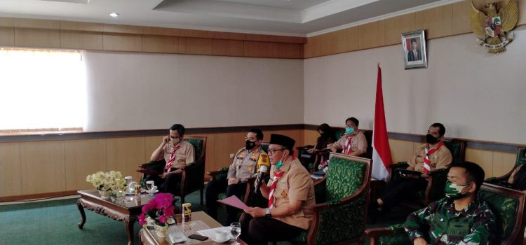 Gubernur Jawa Barat Ridwan Kamil Inginkan Pimpinan Daerah Bodebek Kompak dan Saling Memahami Dalam Penanganan Covid-19