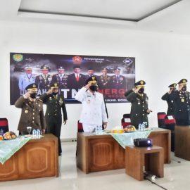 Wabup Bogor Ikuti Upacara Hari Jadi TNI ke-75 Melalui Virtual