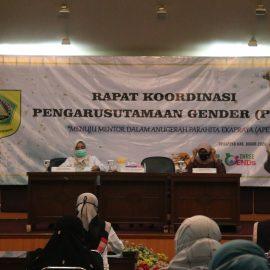 Buka Rakor Pengrusutamaan Gender, Burhan ingin Tahun Ini  Kabupaten Bogor Mendapat Kategori Mentor