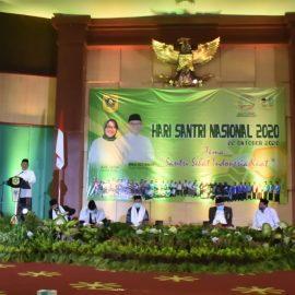 Wabup Bogor Ikuti Dzikir, Shalawat, dan Tausiyah Pada Peringatan Hari Santri Nasional Tahun 2020