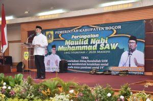 Pemkab Bogor Gelar Peringatan Maulid Nabi Muhammad SAW Secara Virtual