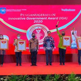 Kabupaten Bogor Raih Kabupaten Terinovatif Dalam IGA 2020