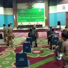 Jelang Pelaksanaan Pilkades Serentak DPMD Kabupaten Bogor Gelar Sosialisasi Secara Virtual