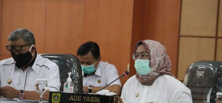 Bupati Bogor Evaluasi Ketersediaan Ruang Isolasi Covid-19 dan Antisipasi Lonjakan Kasus Pasca Libur Nataru