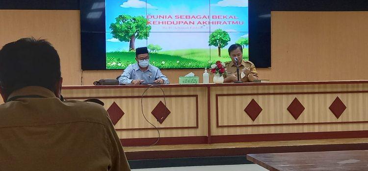 Tingkatkan Rasa Syukur Ditengah Pandemi Covid-19 Diskominfo Gelar Pengajian Ramadhan